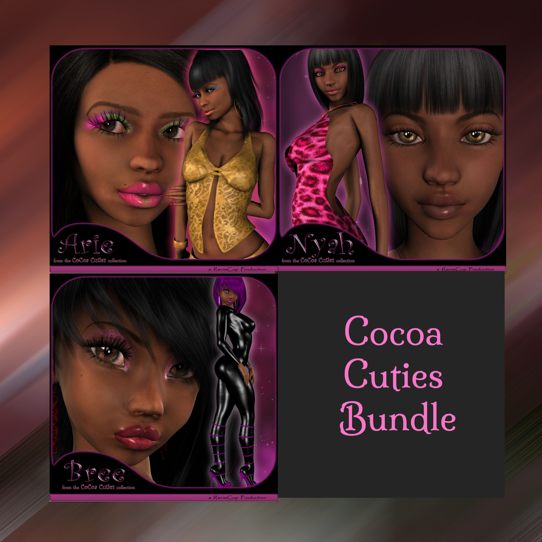Cocoa Cuties Collection for A4