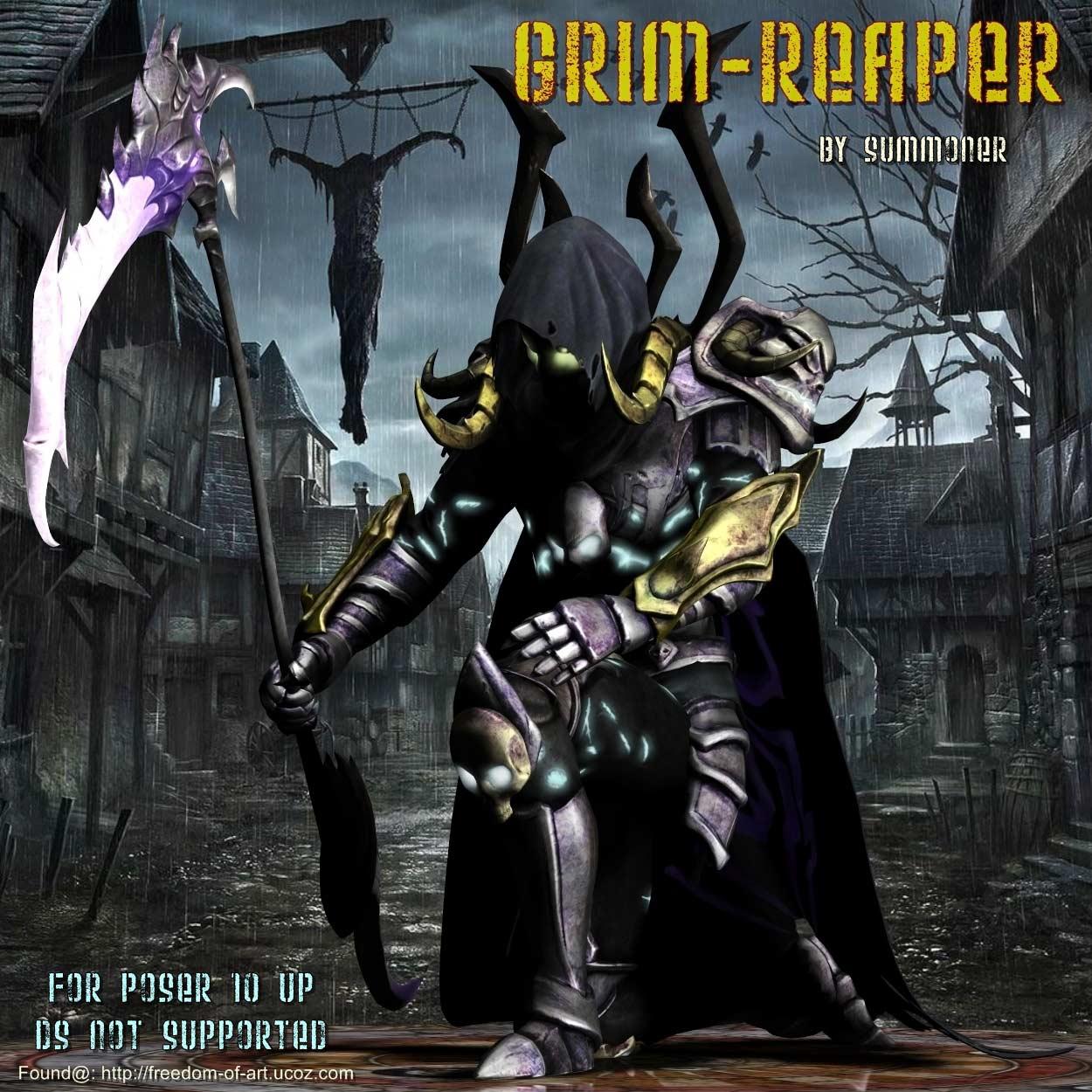 Grim Reaper *Exclusive*