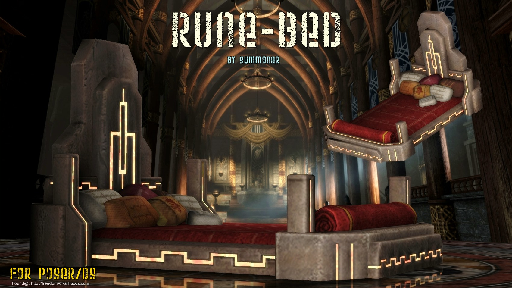 Rune Bed [Exclusive] FREE