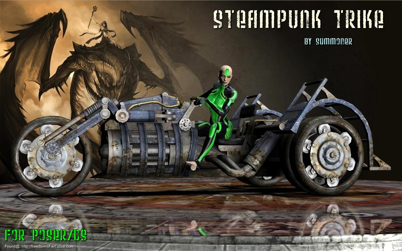 SteamPunk Trike