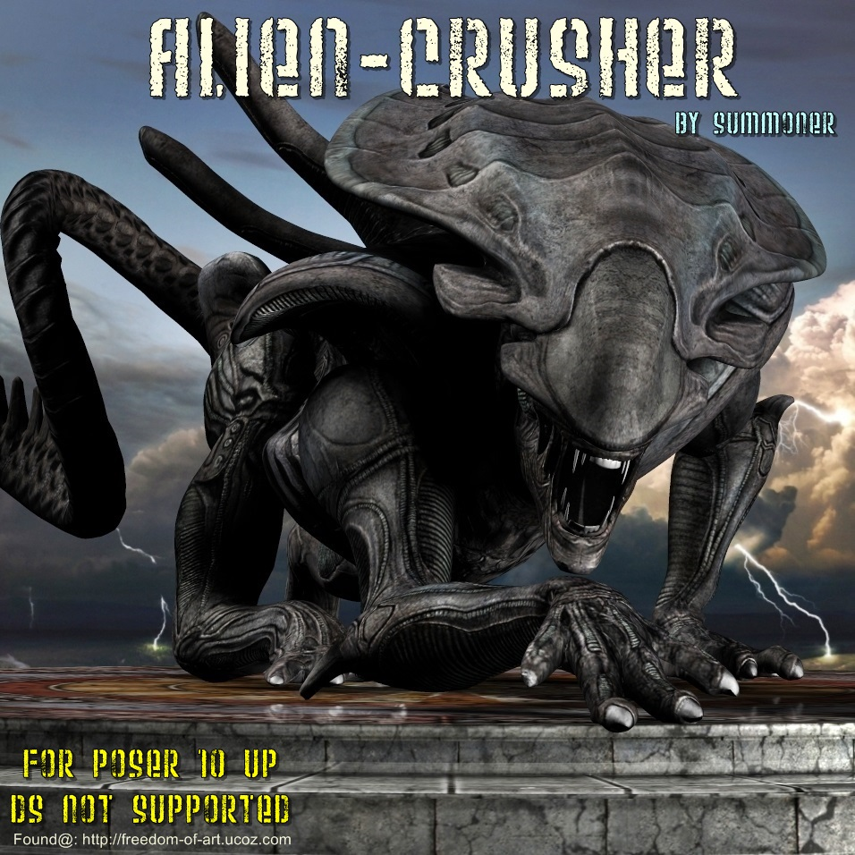 Alien Crusher *Exclusive*