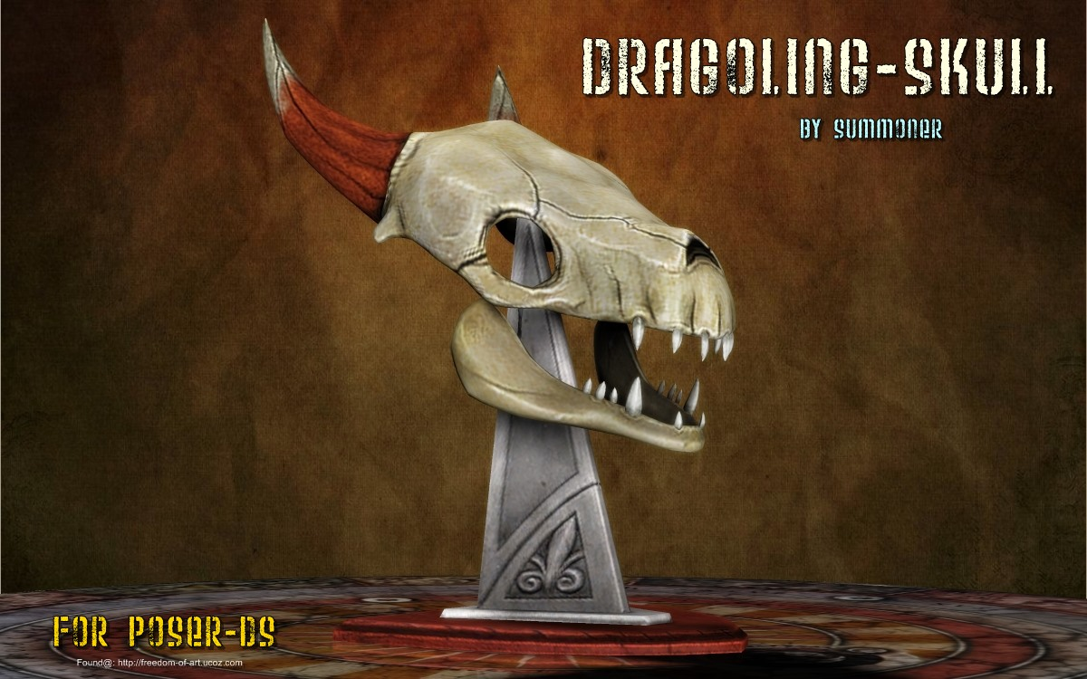 Dragoling Skull [Exclusive]