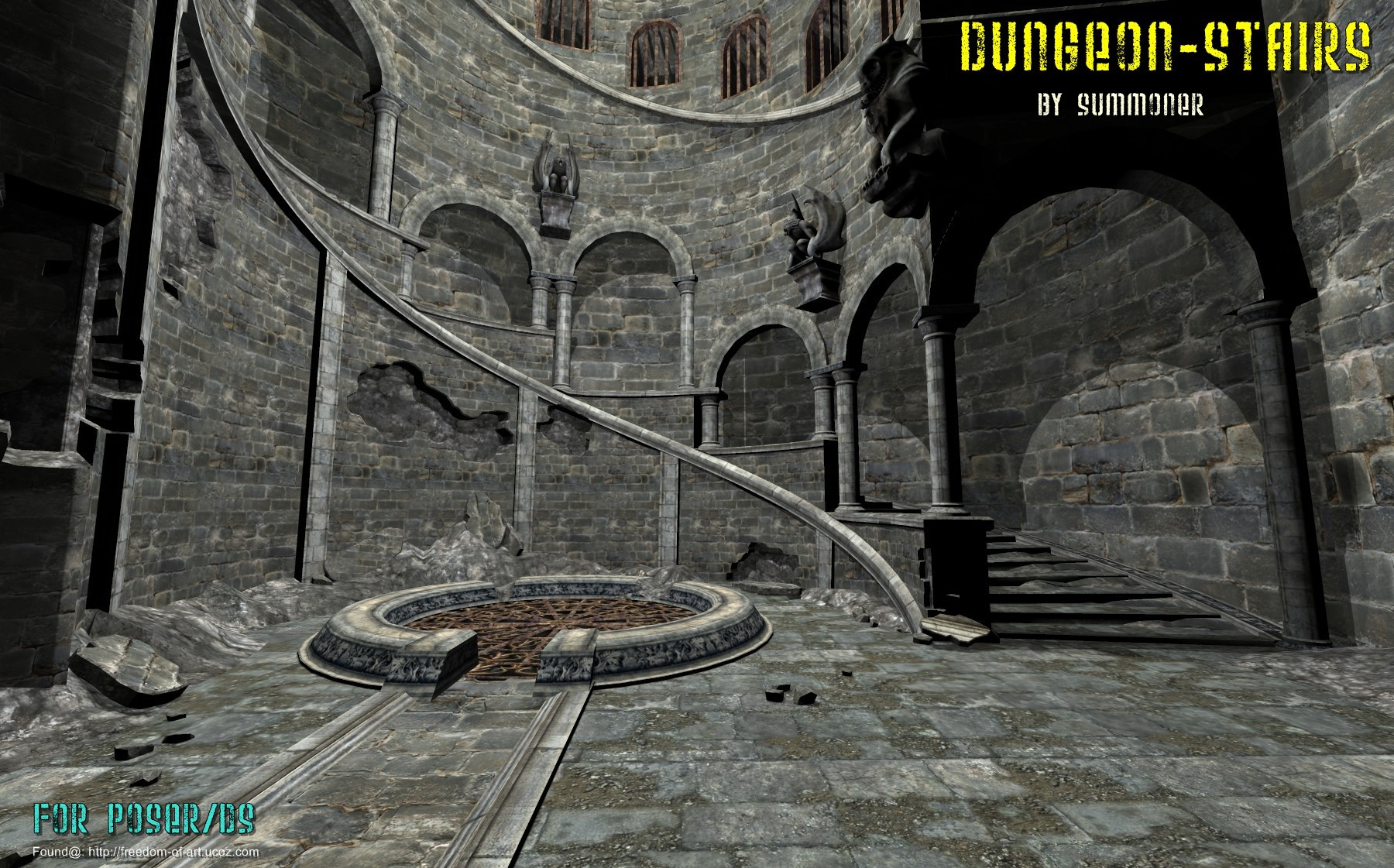 Dungeon Stairs [Exclusive]