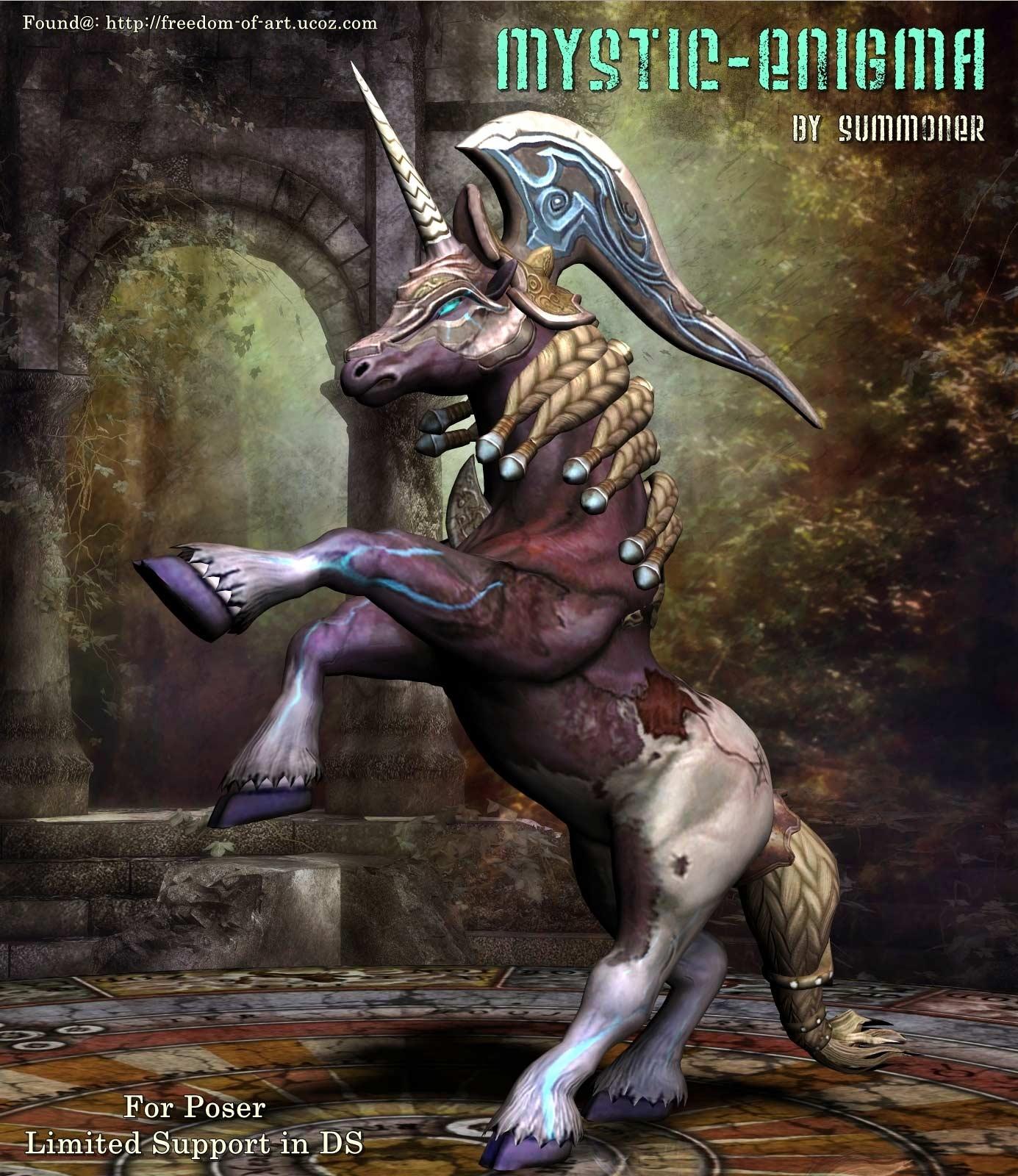 Mystic Enigma Unicorn