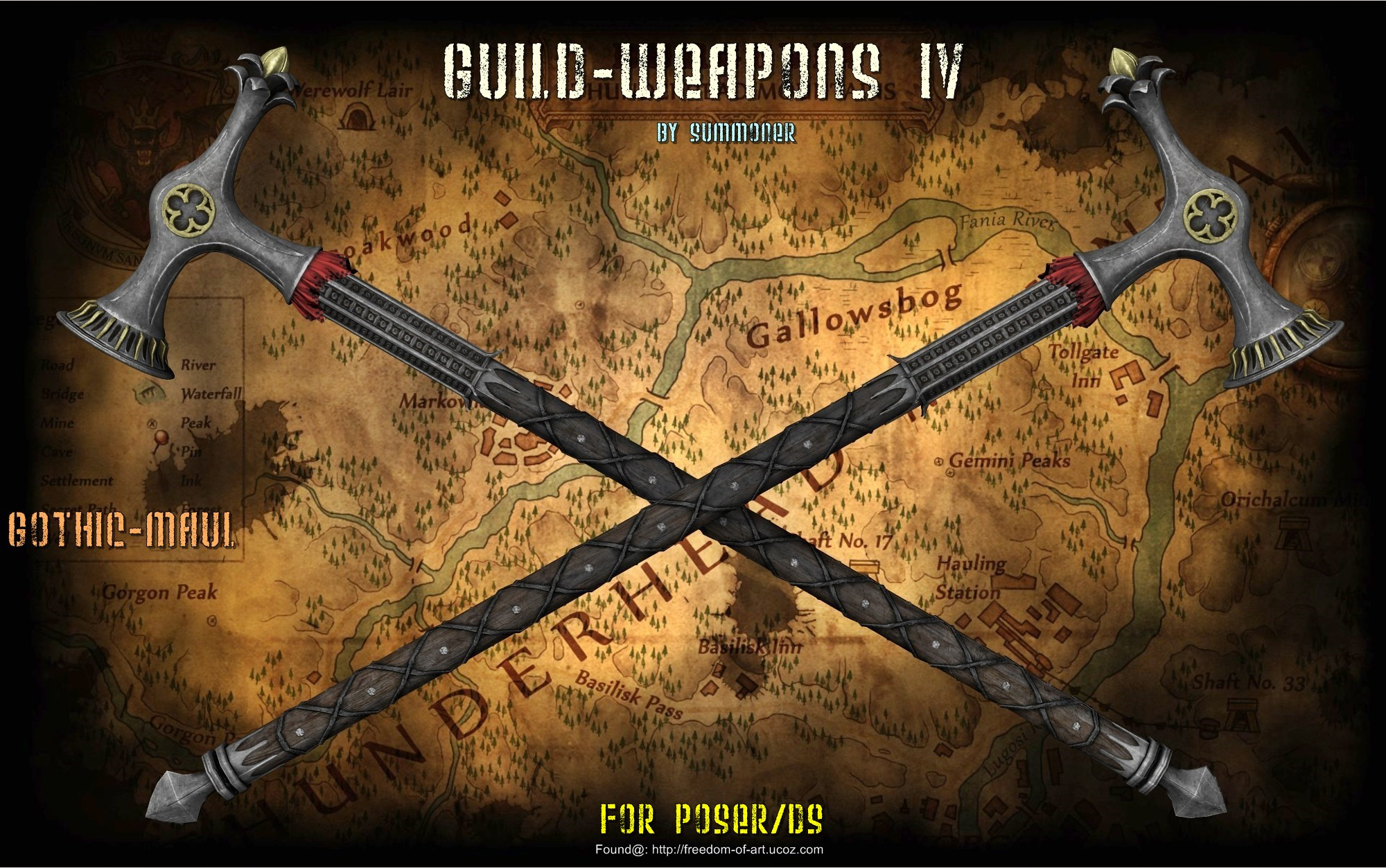 Summoner's Guild Weapons IV *Exclusive*