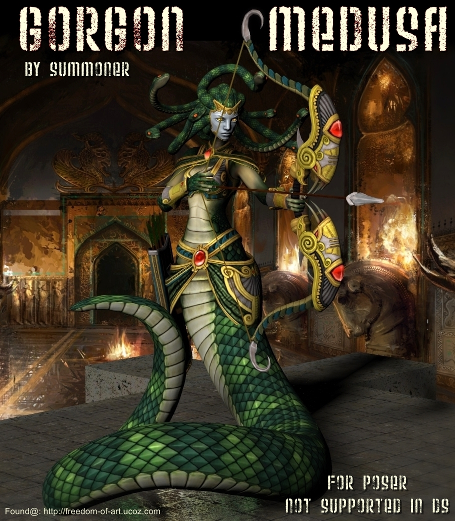 Gorgon-Medusa Exclusive