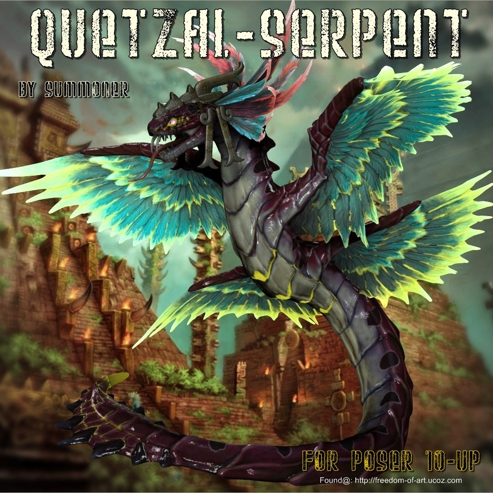 Quetzal Serpent - Exclusive