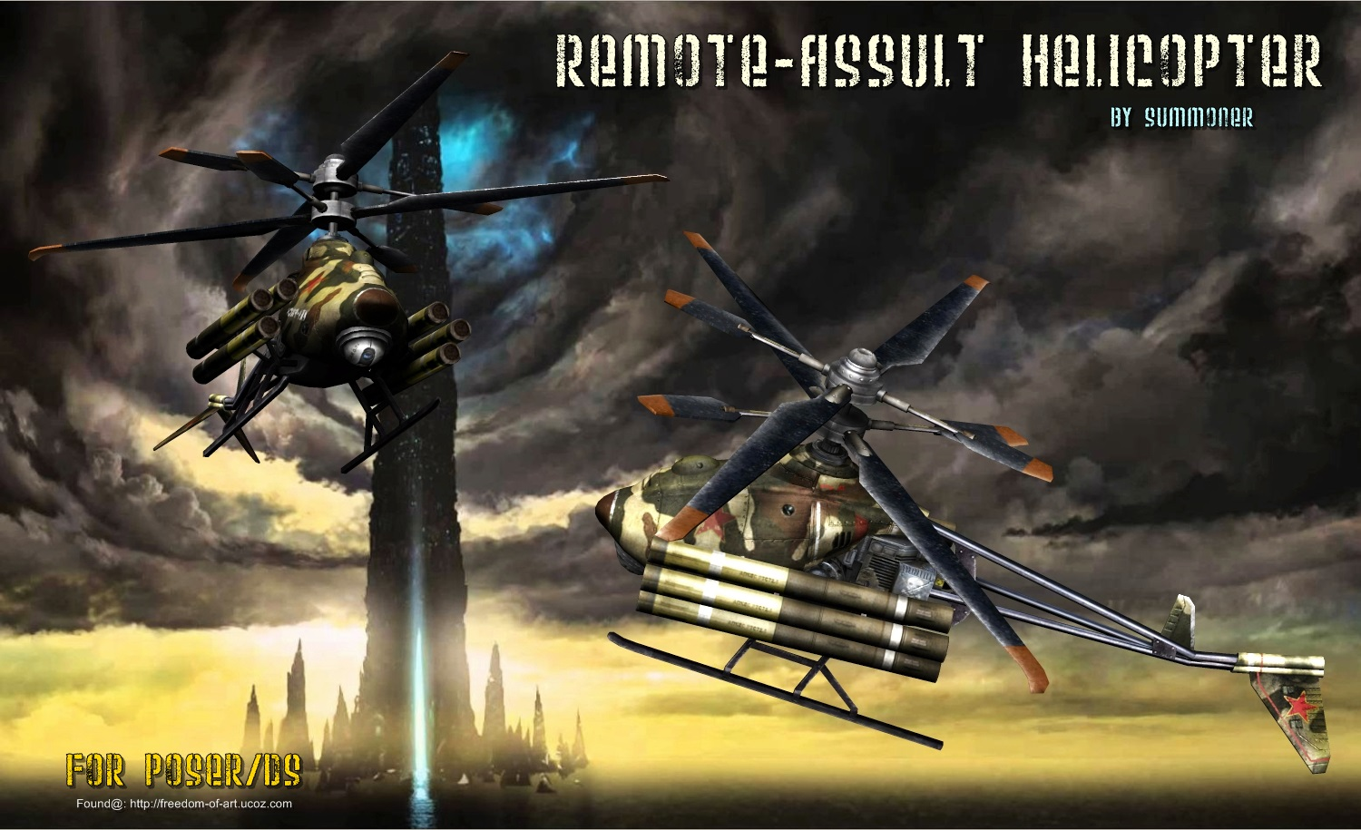 Remote Assault Heli [Exclusive]