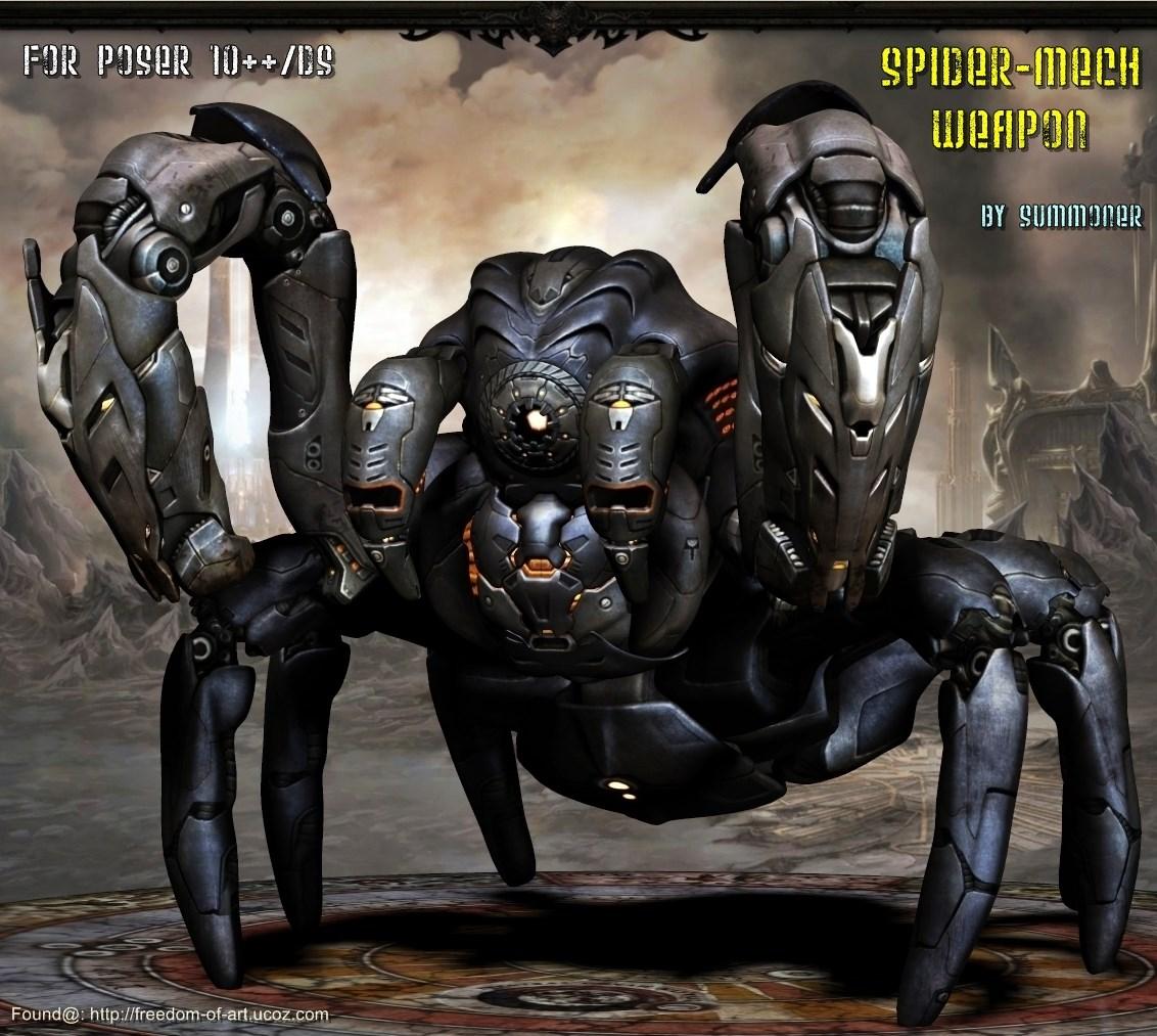 Spider MechWeapon