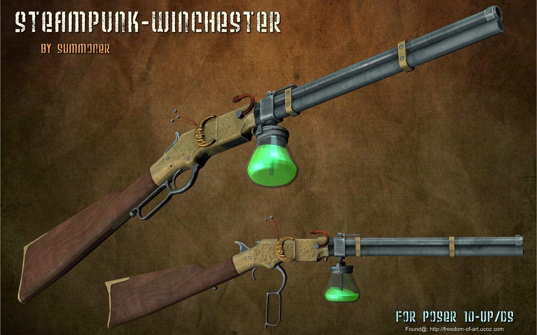 SteamPunk Winchester [Exclusive]